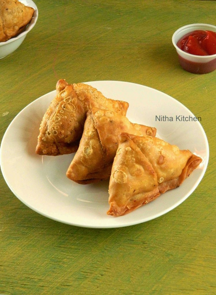 crispy Punjabi Samosa Step By Step Recipe with tips to store it crispy for longer time