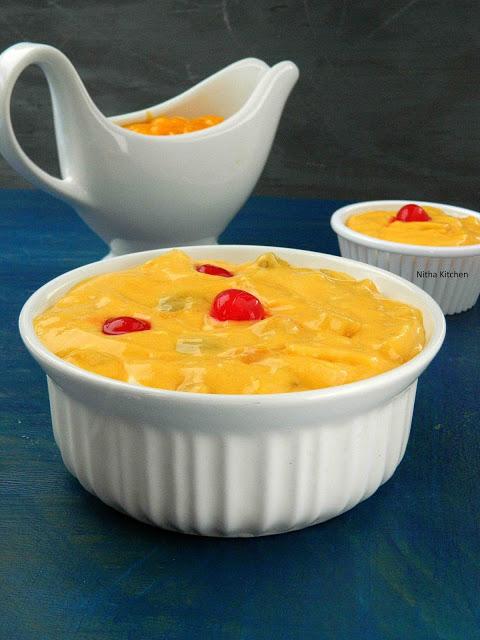 mango custard L