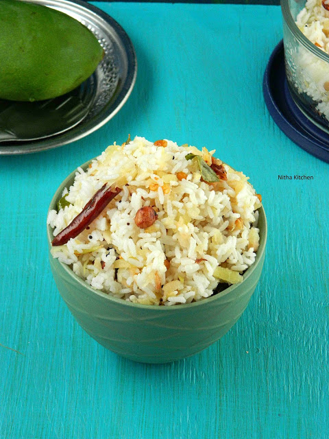 raw mango rice L