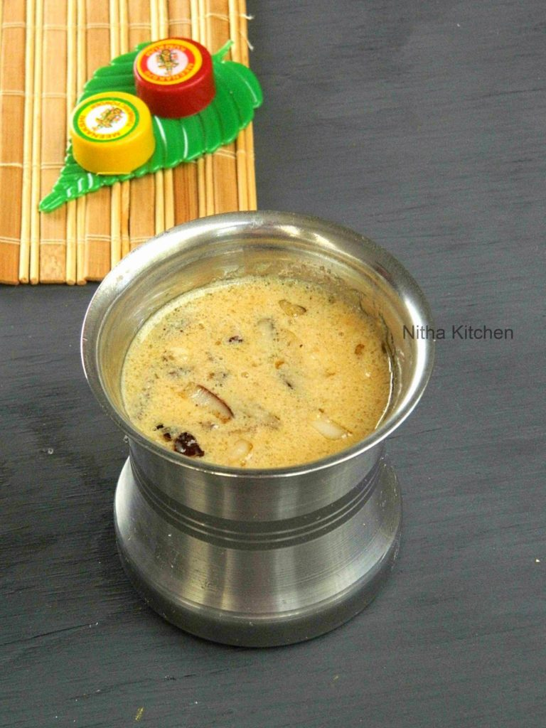 Arisi Thengaai Payasam L