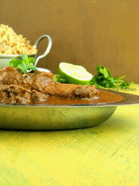 Andhra Chicken Curry1 L