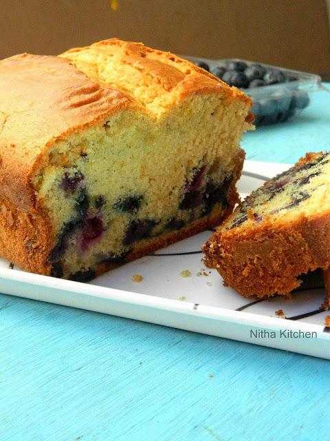 Blueberry Yogurt Pound Cake2 L