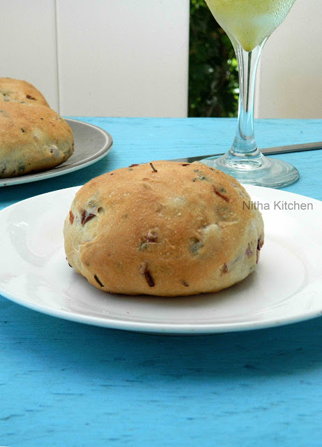 Iyengar Bakery Khara Buns  Eggless Savory Buns