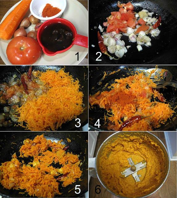 Carrot Chutney1 L