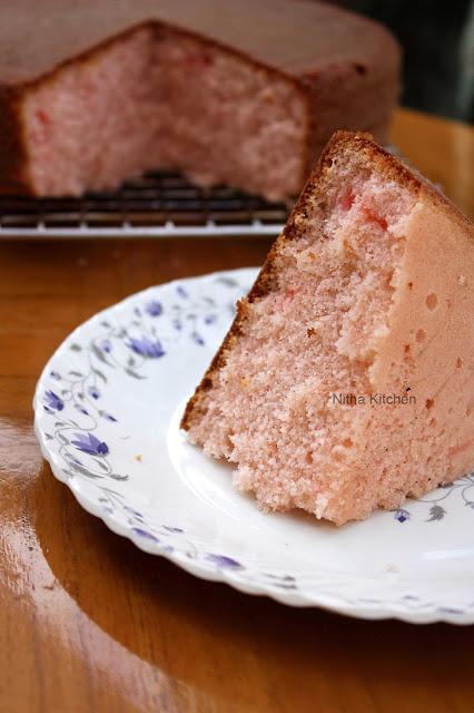 Rose Cooker Cake0 L