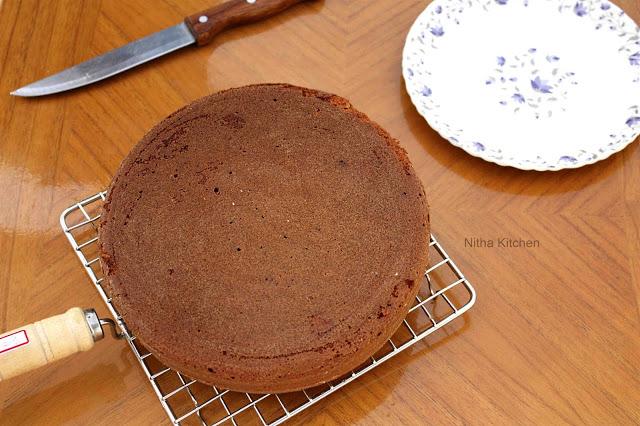 Rose Cooker Cake2 L