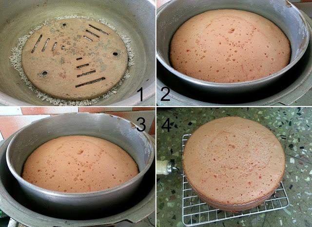 Rose Cooker Cake3 L