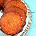 Authentic Adhirasam Using Brown Sugar   Athirasam Recipe with Video!