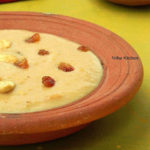 Pani Varagu Jaggery Payasam   Proso Millet Kheer
