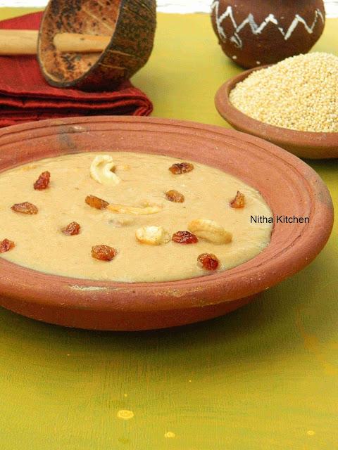 Pani Varagu Jaggery Payasam | Proso Millet Kheer