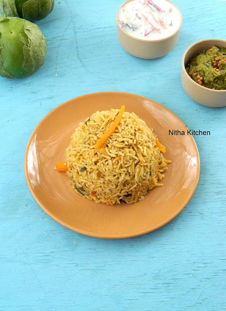 Green Tomato Biryani New sub L