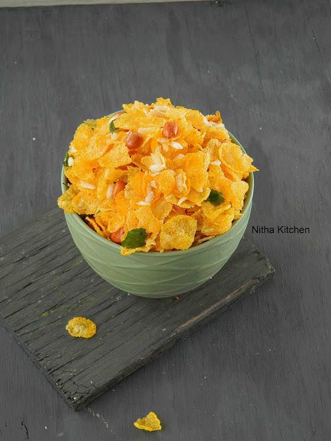Cornflakes chivda L