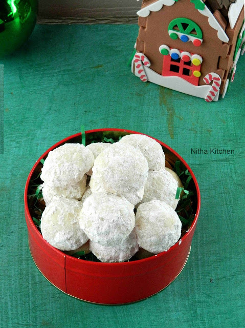 Snow ball cookies L
