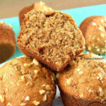 Healthy Banana Nut Wheat Muffins   Morning Breakfast Muffins