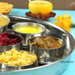 South Indian Vegetarian Lunch Menu Idea 1