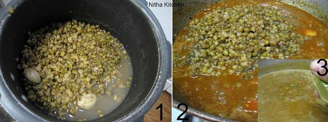 Hara Moong Curry2 L
