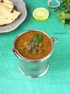 Hara Moong Dal Tadka | Green Moong Dal Fry