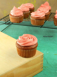 Strawberry Cupcakes Using Fresh Strawberries From Scratch with Strawberry Buttercream Icing Recipe!