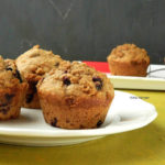 Eggless Blueberry Oats Muffins | Healthy Breakfast and School Snack Recipe For Kids