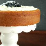 Eggless Almond Sponge Cake Recipe From Scratch