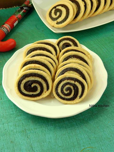 Pinwheel cookies L