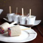 Almond Pista Funfetti Kulfi | Mixed Nuts and Cardamom Flavored Party Kulfi