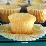 Cardamom Flavored Fluffy and Moist Coconut Cupcakes