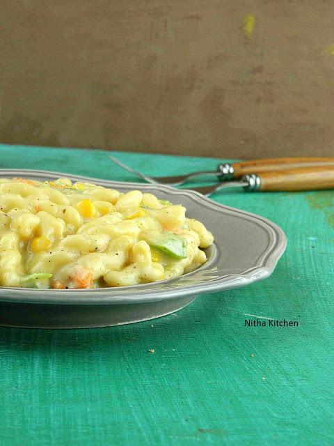 Pasta White Sauce0 L