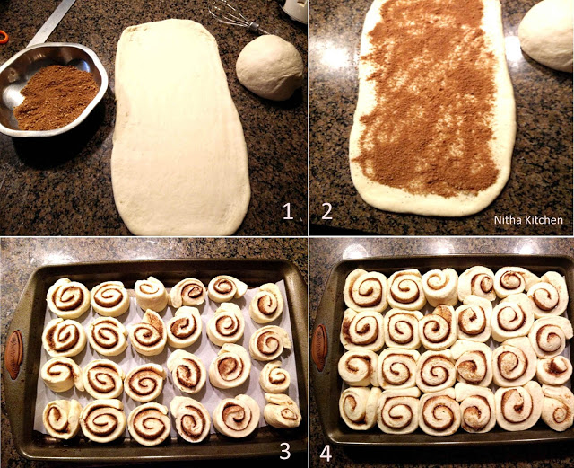 cinnamon rolls step