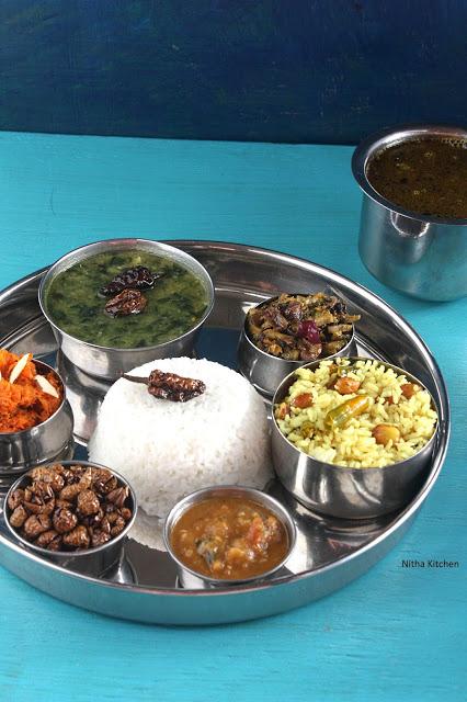 south indian thali L