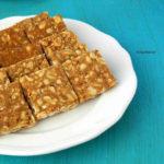 Peanut Chikki | Peanut Brittle | Kadala Mittai | Groundnut Chikki
