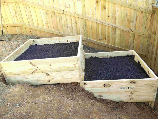 Raised Garden Bed In Slope Area, How To Build A Raised Garden Box On Slope
