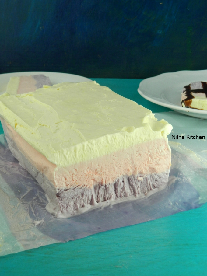 Neapolitan Ice cream recipe