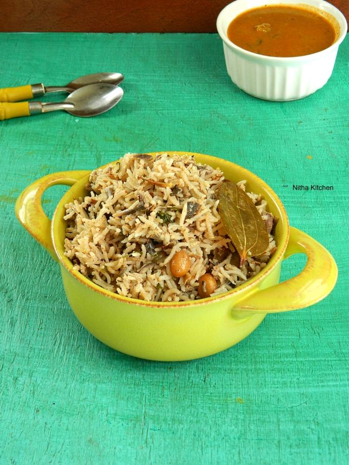Peanut Pulao Pilaf recipe