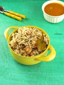 Peanut Pulao Recipe | Verkadalai Pulav | Quick One Pot Meal