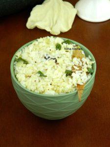 Cauliflower Ghee Rice Recipe | Quick Lunch Box Special
