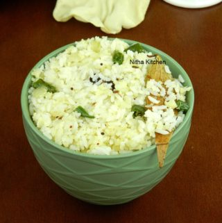 Cauliflower Ghee Rice Recipe