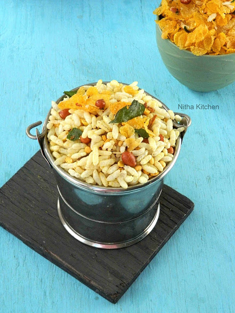 Masala Kaara Pori | Spicy Murmura | Healthy Snack Using Puffed Rice