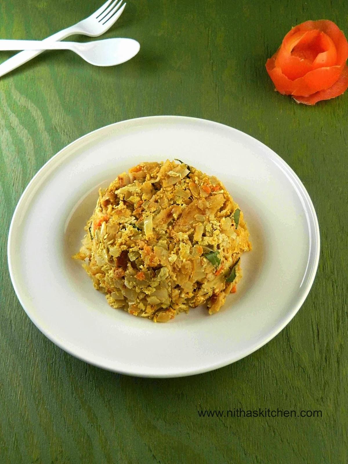 Kothu Parotta | Egg Parotta