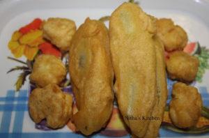 Hot Milagai Bajji | Banana Pepper Fritters