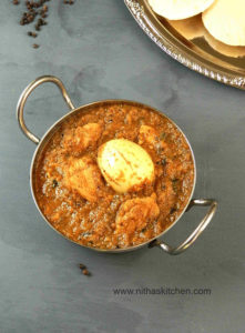 Pepper Chicken Chettinad Gravy