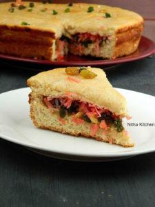 Eggless Thengai Bun | Bakery style Coconut Bun | Tutti Frutti Nuts Stuffed Sweet Bread | Dilkush