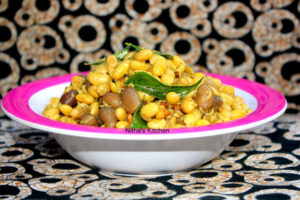 Soya Beans and Peanut Sundal | Soy bean Curry | Stir fry