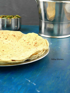 Whole Wheat Avocado Paratha
