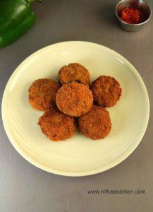 Chicken Cutlet Recipe | Chicken Tikkis
