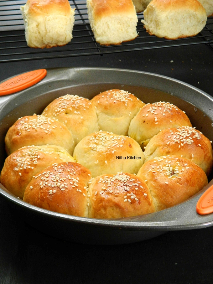 Chicken Stuffed Soft Buns