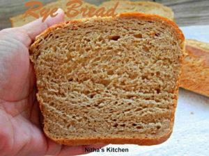 Tangzhong Rye Bread | Whole Grain Bread