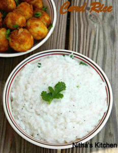 Kids Friendly Creamy Curd Rice | No Chunks of Chilis | Party Thayir Sadham | Thachi Mammum