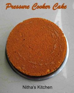 Pressure Cooker Cake Tea Kadai Cake | Sponge Cake with Cardamom Flavor