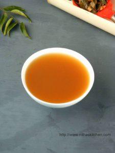 Vazhaithandu Soup | Banana Stem Clear Soup Recipe